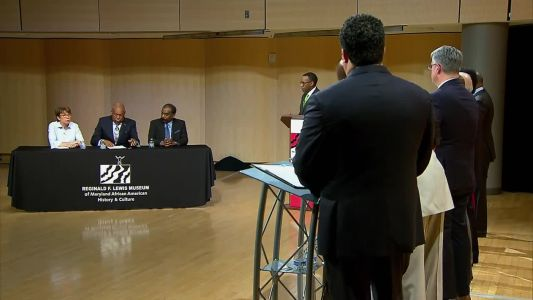 Dem. Candidates' Forum: How to address violence in Baltimore