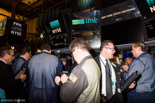 Stocks are sinking as yield curve inversion sparks growth concerns