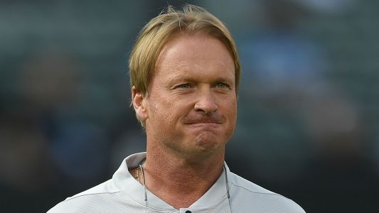 Jon Gruden feels Mark Davis' pain about 1-8 Raiders
