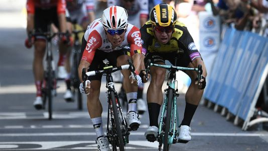 Tour de France 2019: Caleb Ewan triumphs in tight stage 11 sprint finish