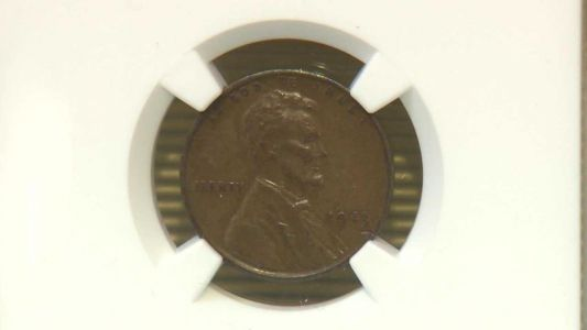 Rare penny on display in Manchester