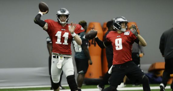 Carson Wentz's status for Week 1 remains uncertain