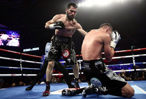 Terrifying Dagestani boxer Artur Beterbiev bludgeons Oleksandr Gvozdyk in a statement light heavyweight championship title win