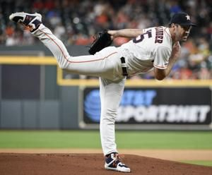 Houston's Verlander pitching no-hitter through 6 innings