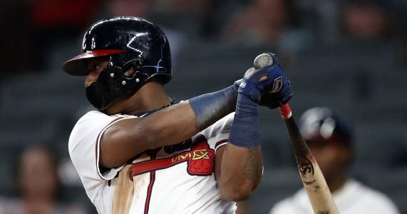 Double duty: Braves' Acuna rips 2 leadoff HRs in 1 day