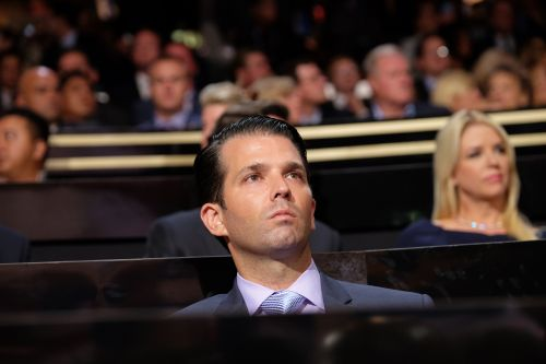 Letter to Donald Trump Jr. says, 'You're an awful person'