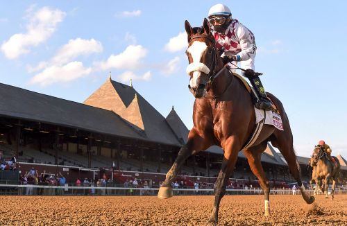 Belmont champion Tiz the Law cruises to victory in Travers
