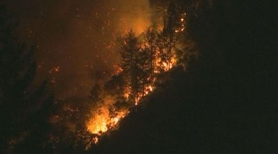 Homes evacuated in Santa Cruz Mountains as new wildfire breaks out