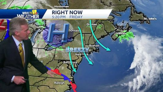 Going east? Great forecast for holiday weekend