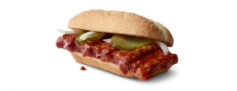 McRib is back: McDonald's fan-favorite available nationwide for first time since 2012