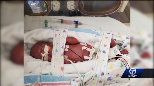 Mom goes into labor at 25 weeks, credits AFR for saving newborn's life