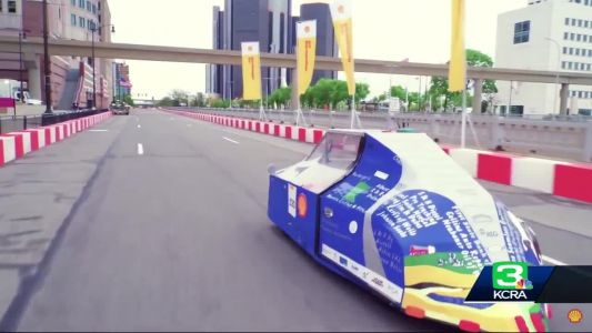 Engineering students compete to create vehicles that go 1,500 miles a gallon