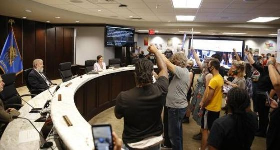 Oklahoma County commissioners strike controversial resolution after protests