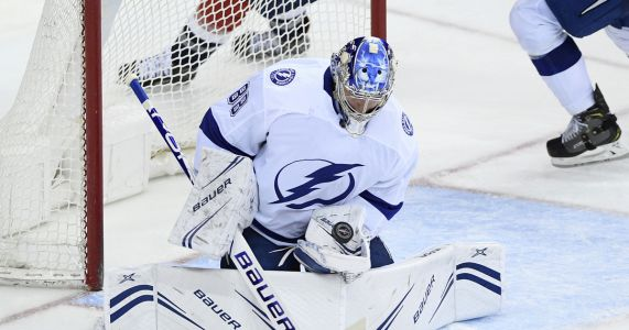 Lightning edge Capitals 5-4 in overtime for 6th straight win