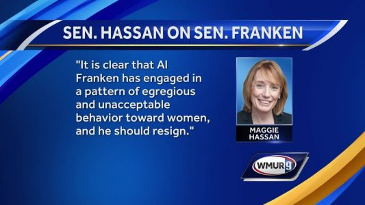 Sen. Hassan, other Democrats call for Al Franken to resign amid sexual misconduct allegations