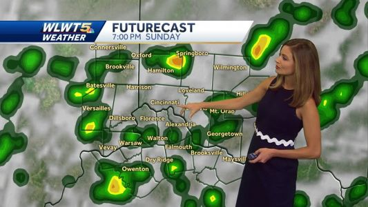 Soggy weather continues this weekend