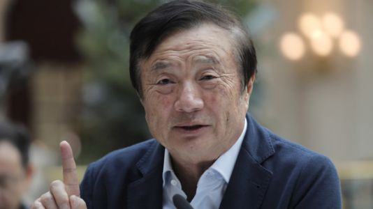 Huawei Founder Denies His Firm Spies For China