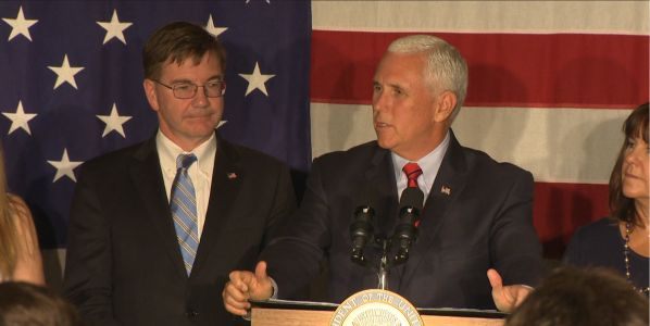 Vice President Pence speaks at fundraiser event for U.S. Rep. Keith Rothfus