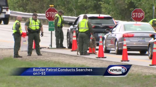 Border Patrol conducts searches on I-93