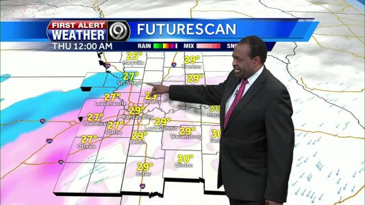 Freezing rain, sleet likely overnight - issues possible for morning commute