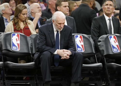 The NBA family mourns the loss of Erin Popovich, wife of Spurs coach Gregg Popovich
