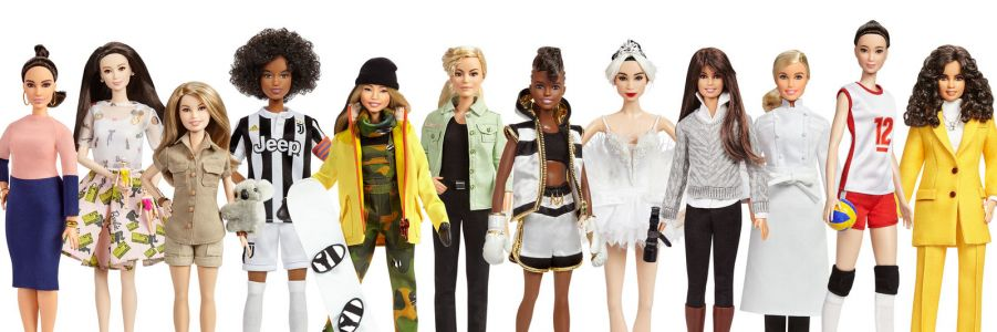 Mattel Unveils 17 New 'Role Model' Barbies For National Women's Day