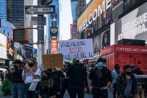 Nearly 100 protesters arrested at Abolish ICE protests in NYC
