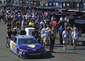 The Latest: Martin Truex Jr. conquers Sonoma's road course