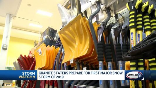 New Hampshire preparing for first major snowstorm of 2019