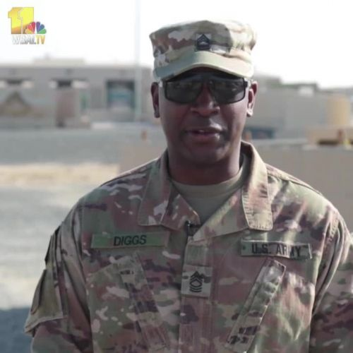 Maryland military greetings for Thanksgiving