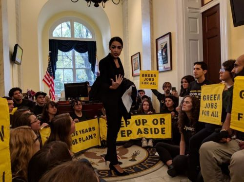 Climate activists take fight over climate legislation to incoming House energy committee leader
