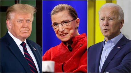 Trump, Biden, Congressional leaders react to Supreme Court justice's death ahead of heated nomination battle