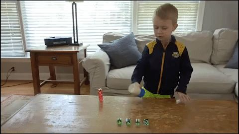 Meet Whitefish Bay's 5-year-old dice trick prodigy
