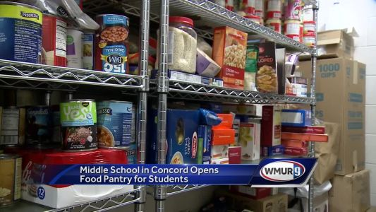 Middle school in Concord opens food pantry for students