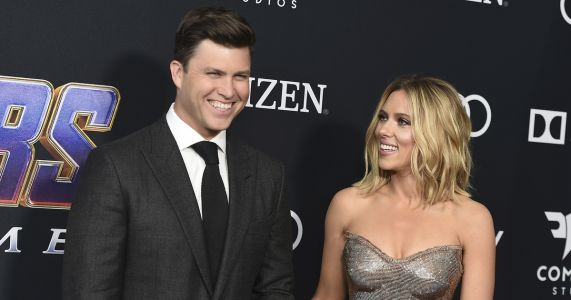 AP Exclusive: Scarlett Johansson and Colin Jost are engaged