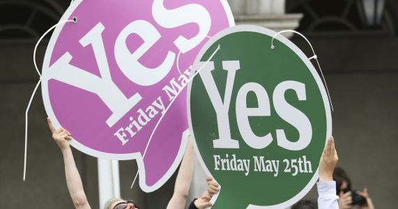 Irish turn attention to parliament as abortion ban voted out