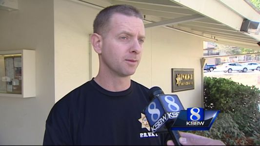 Seaside robbery spree suspects still at large