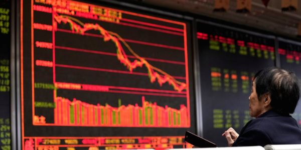 Global markets slump as a 'poisonous brewing cauldron' of risks spooks investors