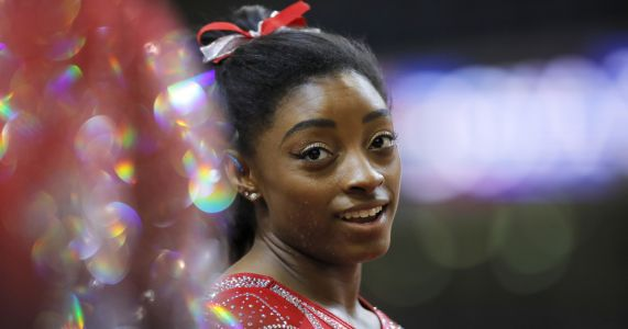 Biles hungry to keep edge as the world's top women's gymnast