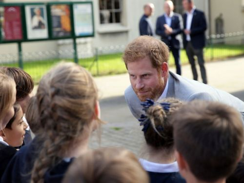 26 photos show what a fun dad Prince Harry will be