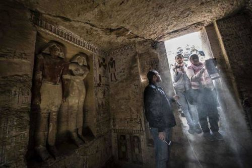 Egypt unearths tomb of royal priest from 4,400 years ago
