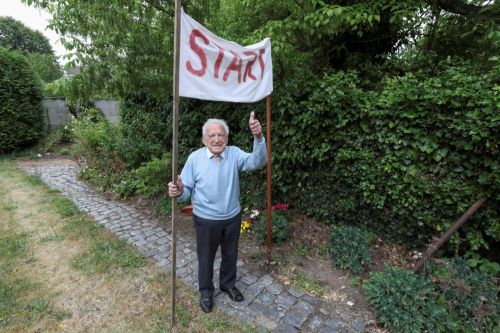 103-year-old Belgian walking marathon to raise funds for coronavirus research