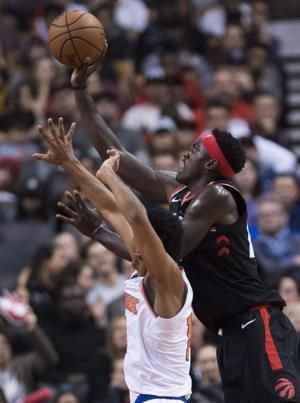 Pascal Siakam scores 23 as Raptors beat Knicks 128-112