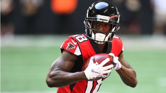Calvin Ridley injury update: Falcons rookie WR expected to play against Giants