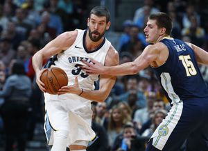 Nikolo Jokic scores 28 points, Nuggets beat Grizzlies 104-92