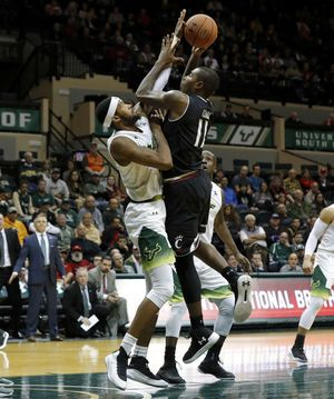 Cumberland has 18 points, No. 14 Cincinnati routs USF 78-55