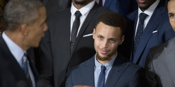 Steph Curry says Obama has invited him to go play golf but he's too busy to accept