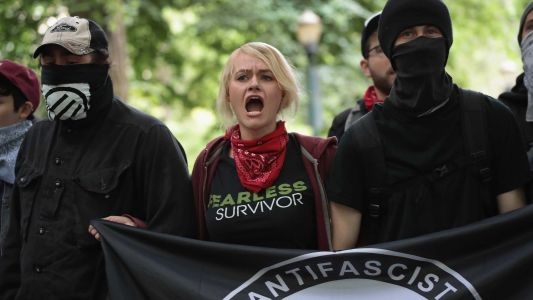 President Trump calls out Antifa as Portland, Oregon, braces for dueling protests