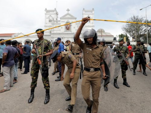 At least 138 people killed in Sri Lanka after churches and luxury hotels hit by explosions