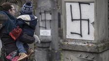 Jewish Cemetery In France Desecrated With Swastikas Amid Growing Anti-Semitism